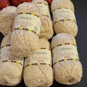 New Herrschners Holiday Victorian Christmas Yarn